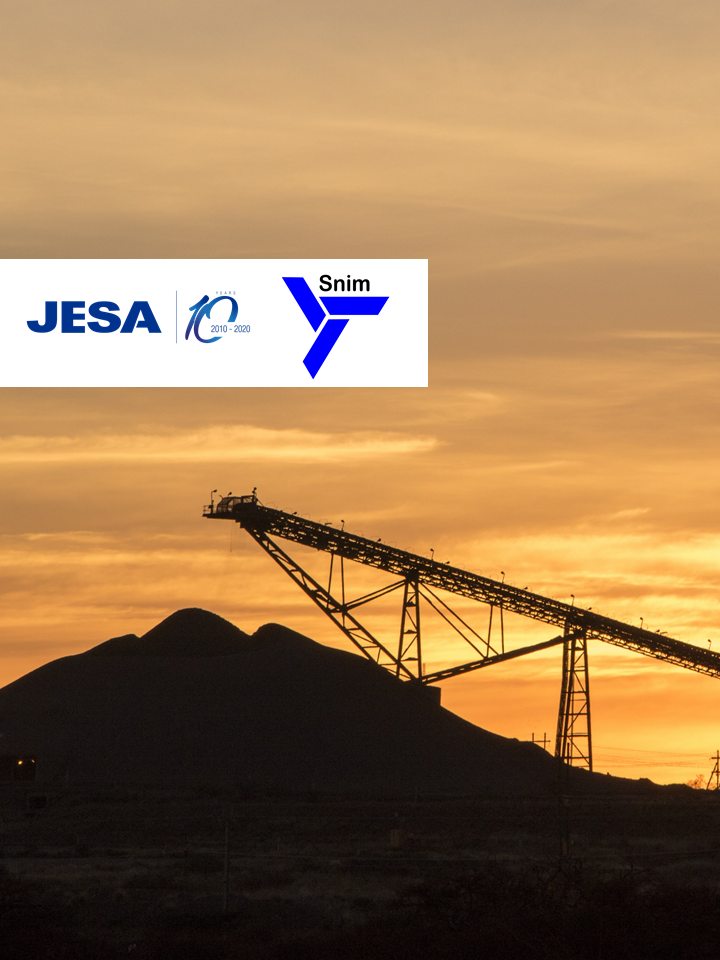 JESA ANNOUNCES THE SIGNATURE OF A PMC ROLE CONTRACT WITH SNIM FOR THE FOLLOW-UP OF THE REHABILITATION AND MODERNIZATION OF THE GUELB 1 PLANT IN ZOUERATE.